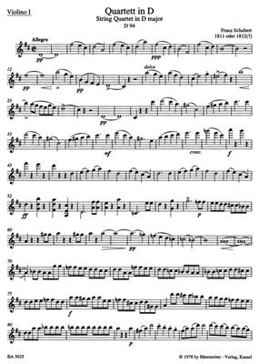 Franz Schubert: String Quartets I: String Ensemble