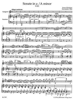 Franz Schubert: Arpeggione Sonata Viola & Piano: Viola