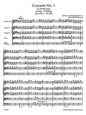 Antonio Vivaldi: The Four Seasons (Full Score): Violin