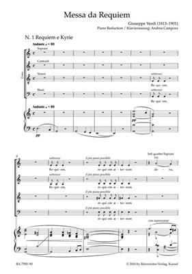 Giuseppe Verdi: Requiem: Arr. (Andrea Campora): Mixed Choir
