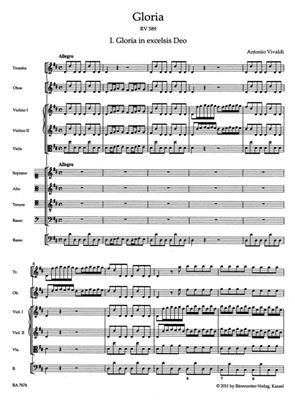 Antonio Vivaldi: Gloria: Mixed Choir