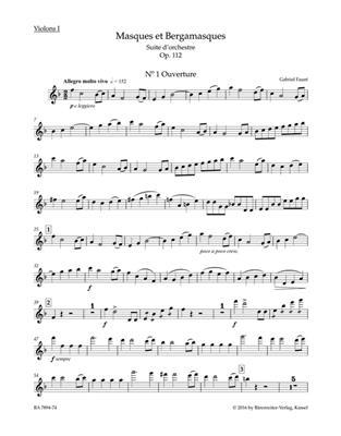 Gabriel Fauré: Masques et Bergamasques op. 112: Orchestra