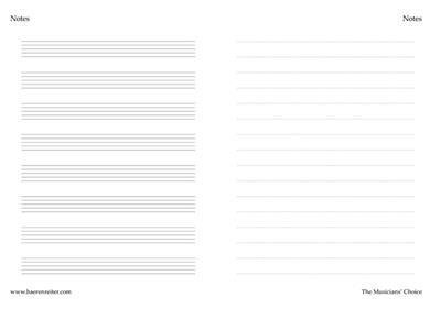 Notes: Manuscript Paper