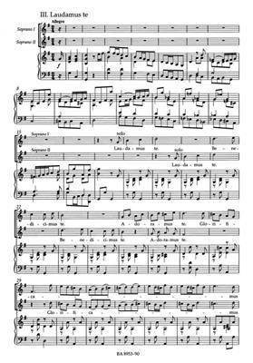 Antonio Vivaldi: Gloria Rv589 Ssaa: Mixed Choir