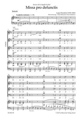 Luigi Cherubini: Requiem in C Minor: Mixed Choir