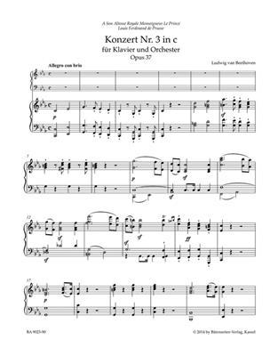 Ludwig van Beethoven: Concerto No.3 In C Minor Op.37 For Piano: Piano