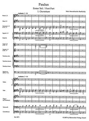 Felix Mendelssohn Bartholdy: St. Paul Op.36: SATB