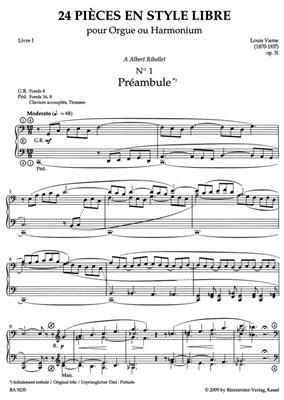 Louis Vierne:Samtliche Orgelwerke 8/1 (Op.31)