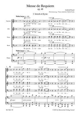 Gabriel Fauré: Messe de Requiem: SATB