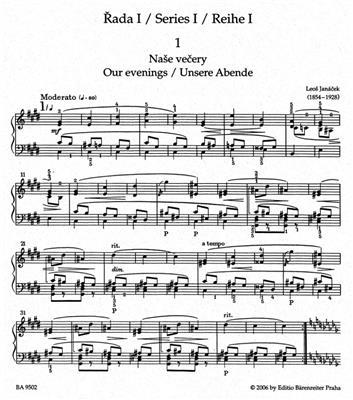 Leos Janacek: On An Overgrown Path: Piano