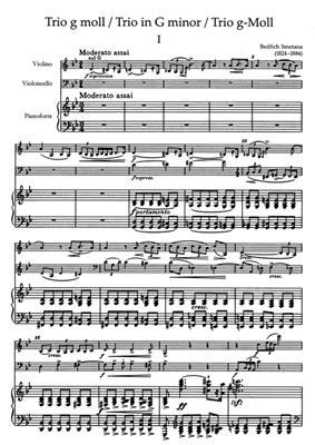 Bedrich Smetana: Trio G Op.15: Instrumental