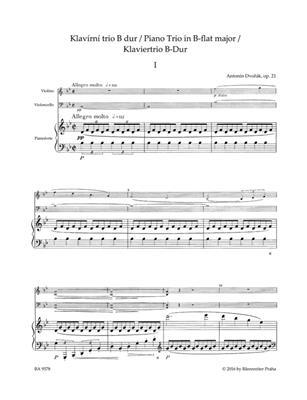 Antonín Dvořák: Piano Trio B-flat major op. 21: Chamber Ensemble