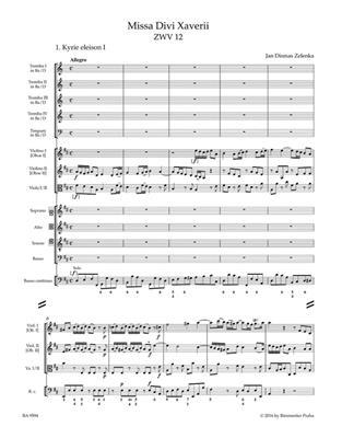 Jan Dismas Zelenka: Missa Divi Xaverii ZWV 12: Mixed Choir