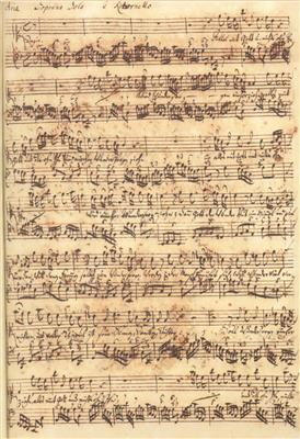Johann Sebastian Bach: Aria Alles mit Gott und nichts ohn ihn BWV 1127: Books on Music