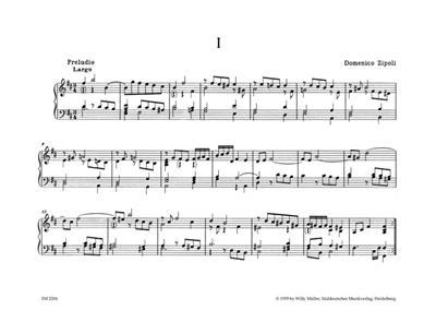 Domenico Zipoli: Orgel- und Cembalowerke, Band 2: Cembalowerke: Piano or Keyboard