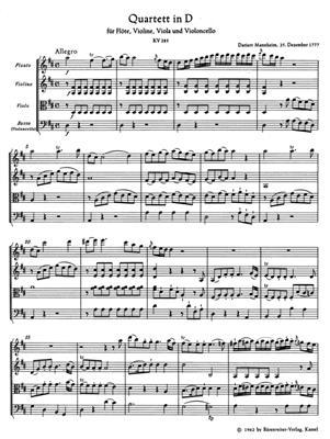 Wolfgang Amadeus Mozart: Flute Quartets: Ensemble
