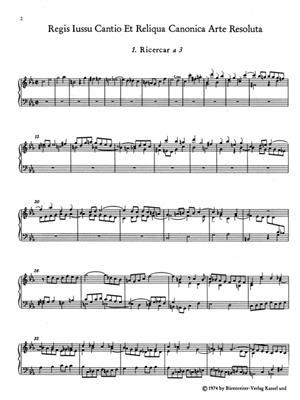 Johann Sebastian Bach: Musical Offering BWV 1079: Ensemble