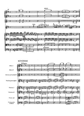 Wolfgang Amadeus Mozart: Violin Concerto No.3 In G K.216: Mixed Ensemble
