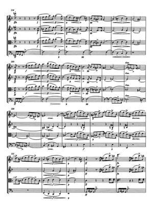 Franz Schubert: Streichquartet D D810: String Ensemble