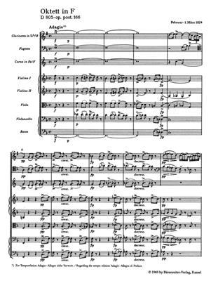 Franz Schubert: Octet In F Op.Post.166 D 803: Ensemble