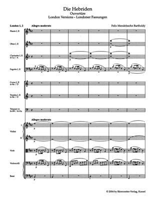 Felix Mendelssohn Bartholdy: The Hebrides Op.26: Orchestra