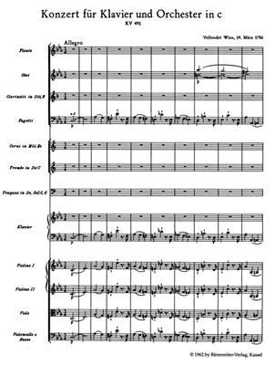 Wolfgang Amadeus Mozart: Piano Concerto In C Minor K.491: Piano