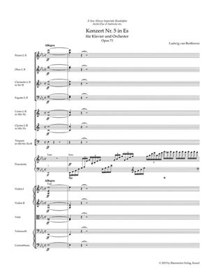 Ludwig van Beethoven: Piano Concerto No.5 In E-Flat Op.73: Piano
