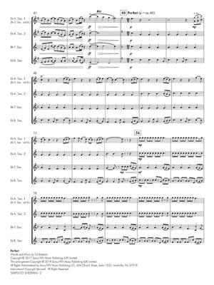 Ed Sheeran: Simply Ed Sheeran: Arr. (Emma Philips): Saxophone Ensemble