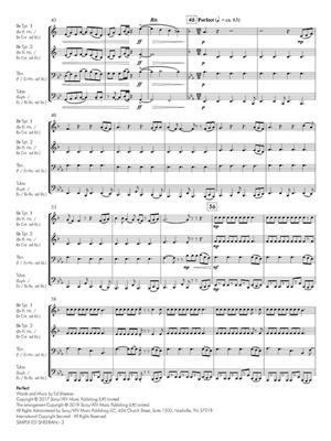 Ed Sheeran: Simply Ed Sheeran: Arr. (Emma Philips): Brass Quartet