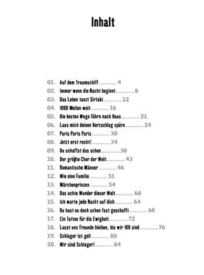 Klubbb3: The Best of Klubbb3 - Songbook für Akkordeon: Accordion
