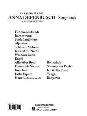 Anna Depenbusch: Das Alphabet der Anna Depenbusch: Piano, Vocal, Guitar