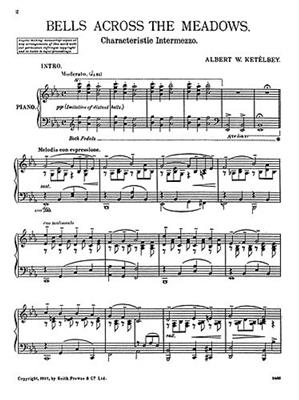Albert Ketèlbey: Bells Across The Meadows (Glocken In Der Ferne): Piano or Keyboard