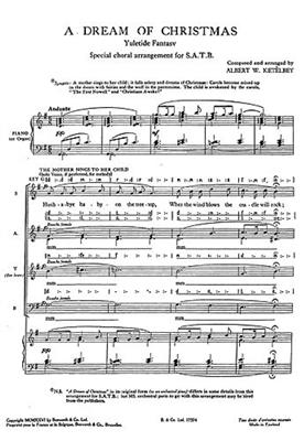 Dream Of Christmas: Mixed Choir