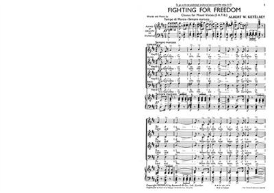 Fighting For Freedom: SATB