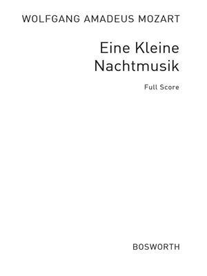 Wolfgang Amadeus Mozart: Eine Kleine Nachtmusik Movement 1 (Score): Recorder Ensemble