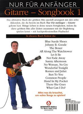 Nur Für Anfänger: Gitarre Songbook 1 (Book/CD): Melody, Lyrics & Chords