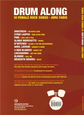 Drum Along - 10 Female Rock Songs: Drum Kit
