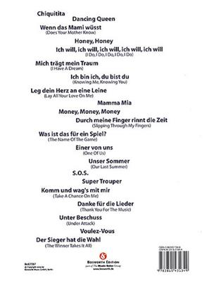 ABBA: Mamma Mia (Deutsch): Vocal