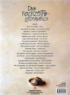 Das Hochzeitsliederbuch (Sopran/Tenor): High Voice
