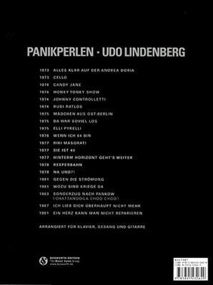 Udo Lindenberg: Panikperlen: Das Beste von Udo Lindenberg: Piano, Vocal and Guitar (songbooks)