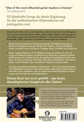 Justinguitar.com - Akustikgitarren-Songbook