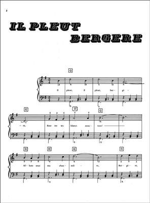 25 Chansons Enfantines: Piano
