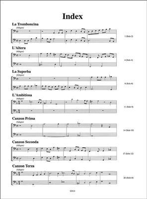 Girolamo Frescobaldi: Canzoni Per Basso Solo E Continuo: Chamber Ensemble
