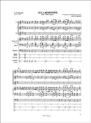 Georg Friedrich Händel: Watermusic Alla Hornpipe: Classical
