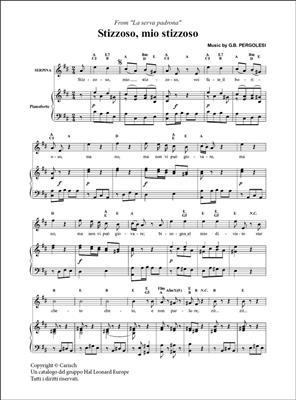 Giovanni Battista Pergolesi: Stizzozo, mio stizzoso, da La Serva Padrona: Soprano