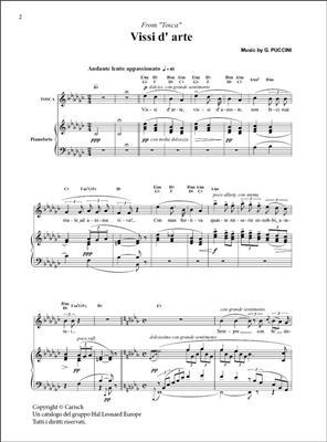 Giacomo Puccini: Vissi d?arte, da Tosca: Soprano