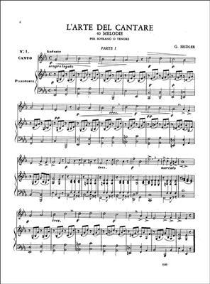 L'Arte Del Cantare: Soprano or Tenor