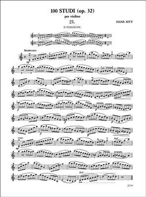 100 Studi Op. 32 per Violino - Volume 2
