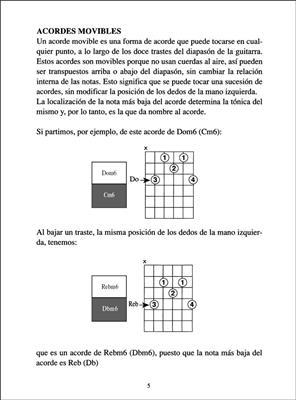 El Libro de los Acordes para Guitarra: Guitar or Lute