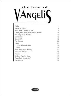 Vangelis: Vangelis: The Best: Piano